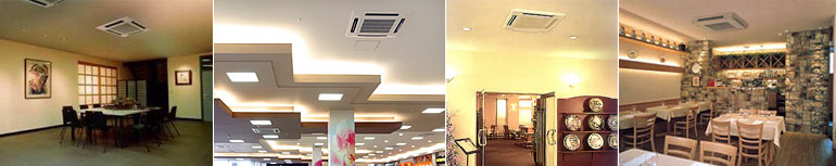 ceiling recessed air conditioner