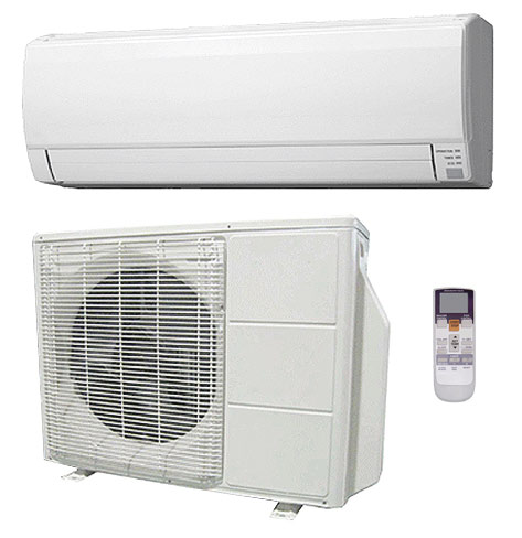 fujitsu aou9rlfw1 asu9rlf 9000 heat pump wall mounted ductless single zone air conditioner system. Black Bedroom Furniture Sets. Home Design Ideas