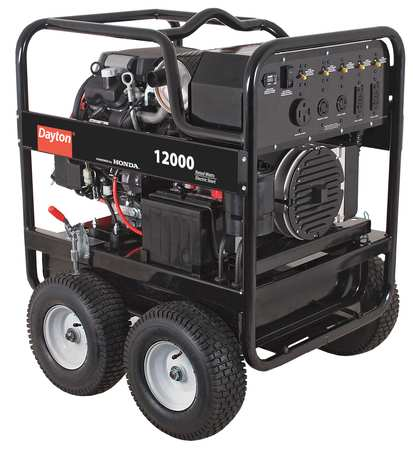Dayton Portable Diesel Generator 5kw Air Conditioner System