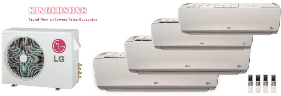 lg quad zone lmu36chv lsn090hsv5 three lsn180hsv5 ductless. Black Bedroom Furniture Sets. Home Design Ideas