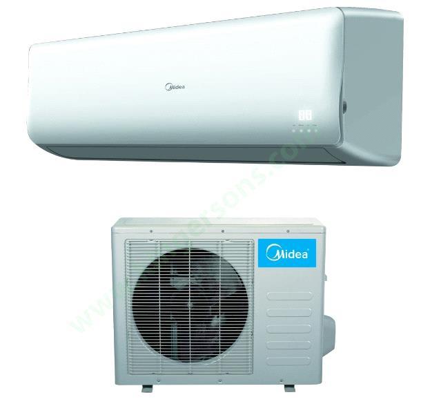 28000 Btu Midea 230v Seer 18 Wall Mount Air Conditioner