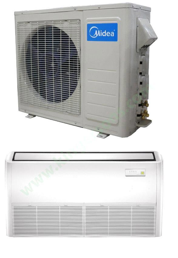 24000 Btu Midea 230v Seer 16 Floor Mount Air Conditioner