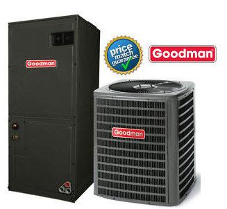 3 Ton Goodman Dszc180361a Avptc42d14a Seer 17 5 Heat Pump