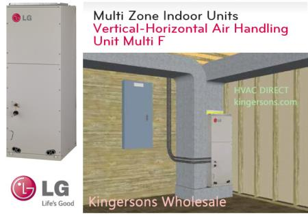 LVN240HV 24000 BTU LG Vertical Horizontal Air Handling Unit