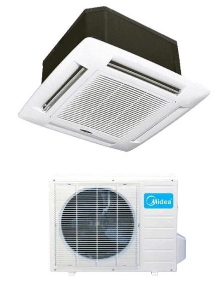 Btu Midea Seer Ceiling Mount Air Conditioner Hyper Heat And Cool